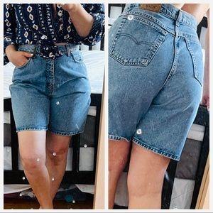 Levi's vintage shorts tag 14 fit 10  (ш10)
